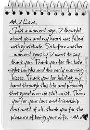 Boyfriend Thank You Letter Sample Magnificent Thank You For The Pleasure Of Being Your Wife Marriage Pinterest
