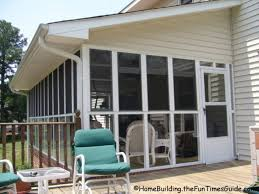 the screened porch with eze breeze windows at my pas house
