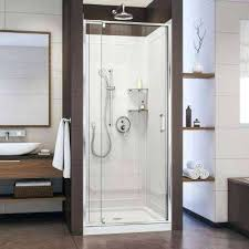 pivot shower kit door stall walls removing n shower stall