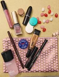 what s in my makeup bag 12 things to have on the go