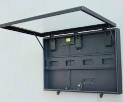 Superb Outdoor Tv Security Cabinet Outdoor Storage U0026 Cabinet Home Theater Receiver 51 Waterproof Stereo