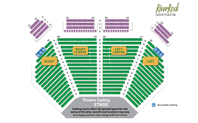 Paradise Cove Seating Chart Hard Rock Casino Tulsa Layout Online 2019