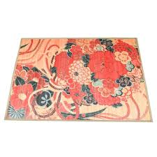 fl painted bamboo area rug by pier 1 imports ebth pier 1 area rugs does pier