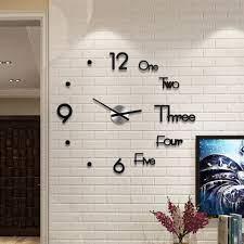 diy clock acrylic digital