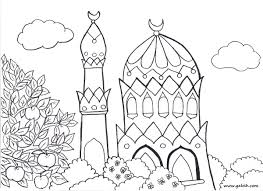 Islamic Coloring Pages 9233 Octaviopazorg