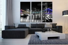 3 Piece Artwork Greece Multi Panel Art Cityscape Canvas Wall Art