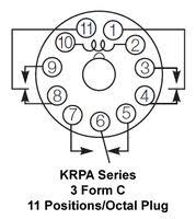krpa 14dg 24 potter brumfield te connectivity power relay 3pdt potter brumfield te connectivity krpa 14dg 24