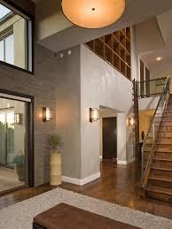 contemporary foyer lighting ideas