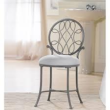bathroom vanity chair or stool. hillsdale o\u0027malley vanity stool, gray bathroom chair or stool i