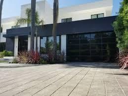 Contemporary Black Aluminum & Black Laminate (Privacy) Glass Garage ...