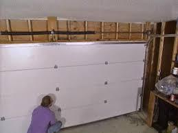 replace garage doorGarage How To Install Garage Door Opener  How To Install Garage