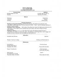 Resume Format For Welder Resume Template Easy Http Www