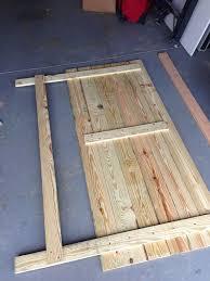 easy diy king platform bed frame fresh 721 best pallet beds headboards images on