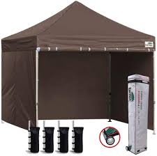eurmax 8x8 feet ez pop up canopy tent