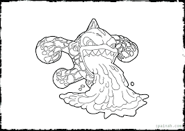 Coloring Pages Swap Force Night Shift Skylanders Academy Spyro Page