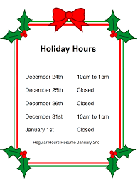Closed Signs Template Holiday Closing Signs Templates Holiday Hours Related