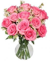 Chantilly <b>Pink Roses</b> Arrangement | Grandparents Day | Flower ...