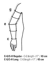Sleeve Chart Medical Stockings Online