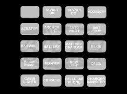blue sea systems translucent gray 60 pack weatherproof sticker blue sea systems translucent gray 60 pack weatherproof sticker labels for ato blade fuse boxes