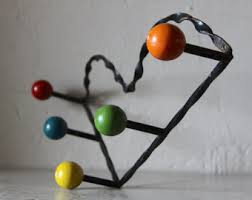 Atomic Coat Rack Atomic coat rack Etsy 16