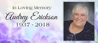 Audrey ERICKSON | Obituary | Calgary Herald