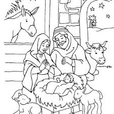 Small Picture Manger Coloring Page FunyColoring