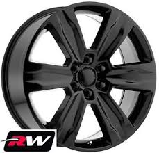 2015 F150 Bolt Pattern Adorable 48 RW Wheels For Ford F48 48 48 Platinum Style Gloss Black