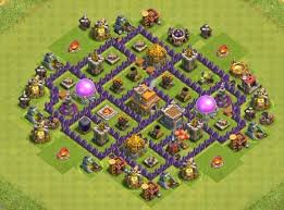 Base 7 12 Best Town Hall 7 Hybrid Bases 2019 New Town Hall