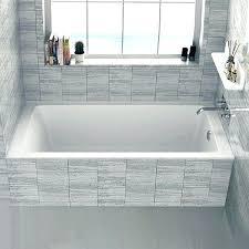 bathtub 60 x 30 drop in bathtub x bath with regard to remodel 6 kohler acrylic