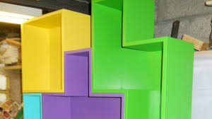 tetris furniture. Create Modular Tetris Shelves For Fun And Practical Storage Furniture R