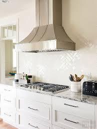 White Kitchen Backsplash Tile Best 25 White Kitchen Backsplash Ideas On  Pinterest Backsplash
