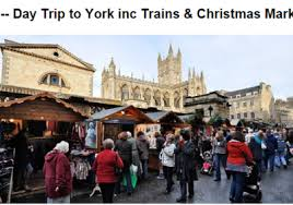 york xmas market. there \u201care few more romantic places to be in the run up christmas\u201d than york, says daily telegraph, and with this offer from uk railtours, york xmas market