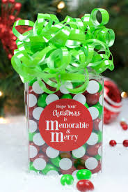 m m chocolate gift idea for