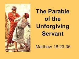 Image result for image of unforgiving servant
