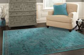 Allen Roth Area Rugs In Over Dyed Style