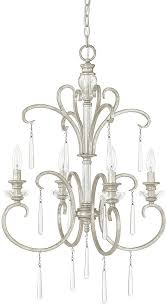 capital lighting 4784as 000 celine antique silver mini ceiling chandelier loading zoom