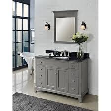 perfect 48 inch vanity for your bathroom mid century grey 48 inch vanity