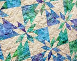 Batik Patchwork Quilt Starlight Handmade to Order by & Hunters Star Queen Batik Patchwork Quilt by PingWynny Adamdwight.com