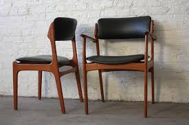 new mid century od 49 teak dining scandinavian dining room chairs black dining room chair elegant vine erik buck o d mobler danish of post