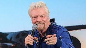 Richard Branson's flight was a stunt ...
