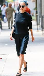 east coast fun nicole ritchie stepped out with her daughter harlow and sam ronson