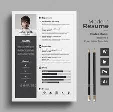 Modern Resume Layout 40 Professional Resume Template 40 Best Resume Layout 2017