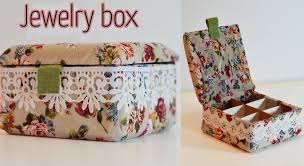 diy craft jewelry box ana diy crafts youtube