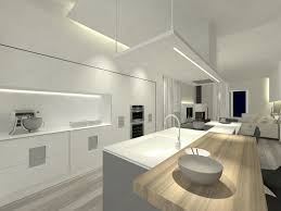 image of modern led kitchen ceiling lights
