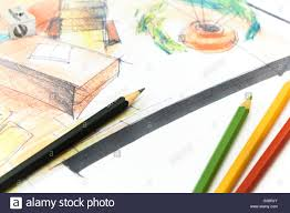 interior design hand drawings. Project Interior Design. Hand Drawing Details Of Interior. Design Drawings