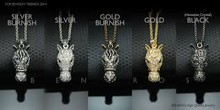 race horse head pendant chain necklace animal jewelry gold silver swarovski crystal