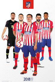 Atlético de madrid's board of directors, which met on wednesday morning, has decided to formally communicate to the super league and the rest of atlético de madrid and the world's leading money transfer company have renewed their partnership for another season. Atletico Madrid 2018 2019 Grupo Poster All Posters In One Place 3 1 Free
