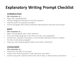 Explanatory Essay Format Explanatory Essay Format Nj Ask Science Vocabulary Lit