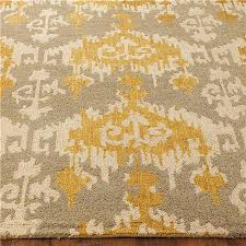 stylish ikat runner rug hand hooked ikat rug rooms furniture rugs and gray