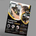 Computer Repair Flyer Word Template Computer Repair Brochure